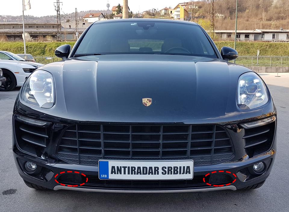 Porsche Macan Antiradar Jedini Ovla ćeni Antiradar Distributer Za Srbiju Bosnu Crnu Goru