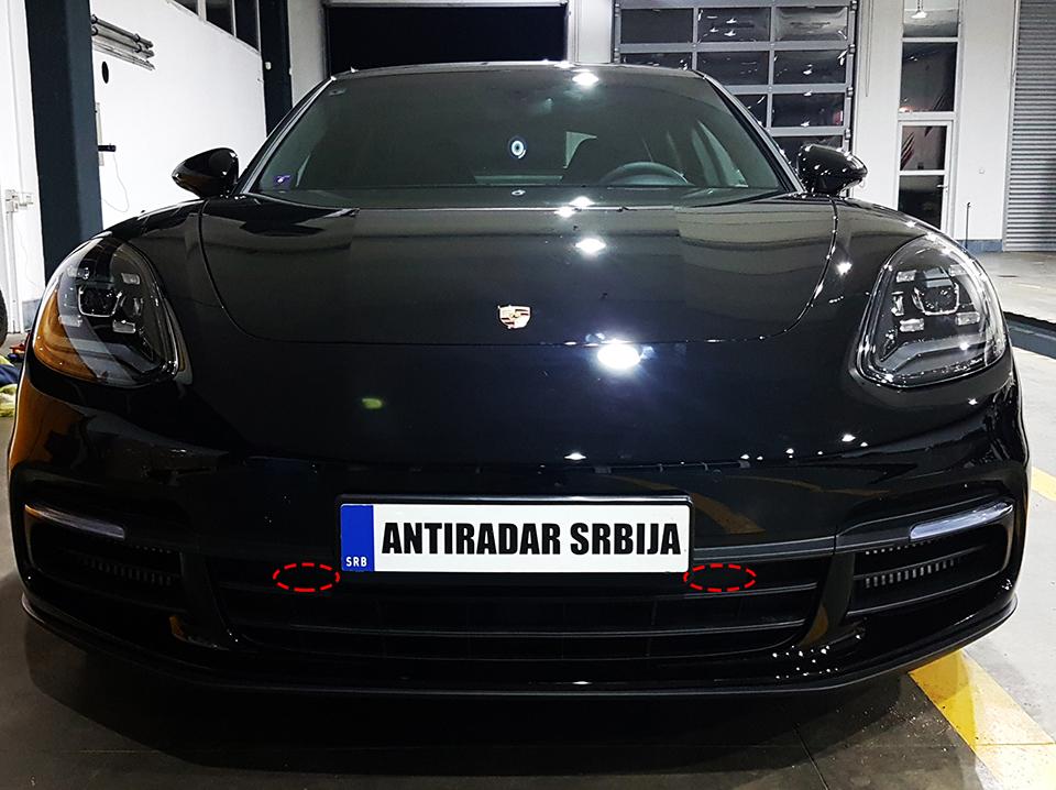 Porsche Panamera 4s Antiradar Jedini Ovla ćeni Antiradar Distributer Za Srbiju Bosnu Crnu Goru